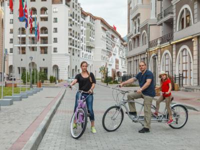 Аренда велосипедов в «Горки Городе +960»